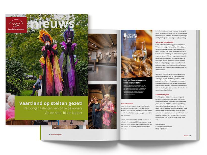 Frankelandgroep Nieuws - editie 5 - 2020