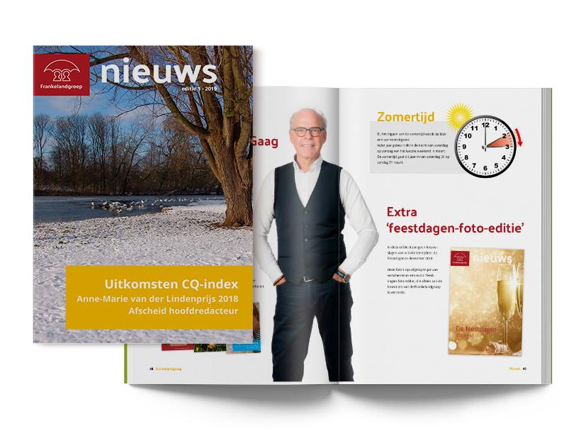 Frankelandgroep Nieuws - editie 1 - 2019
