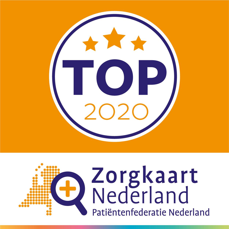 Frankelandgroep staat tweemaal in ZorgkaartNederland Top2020
