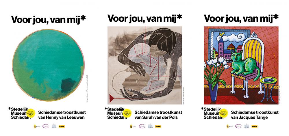 Troostkunst uit Schiedam