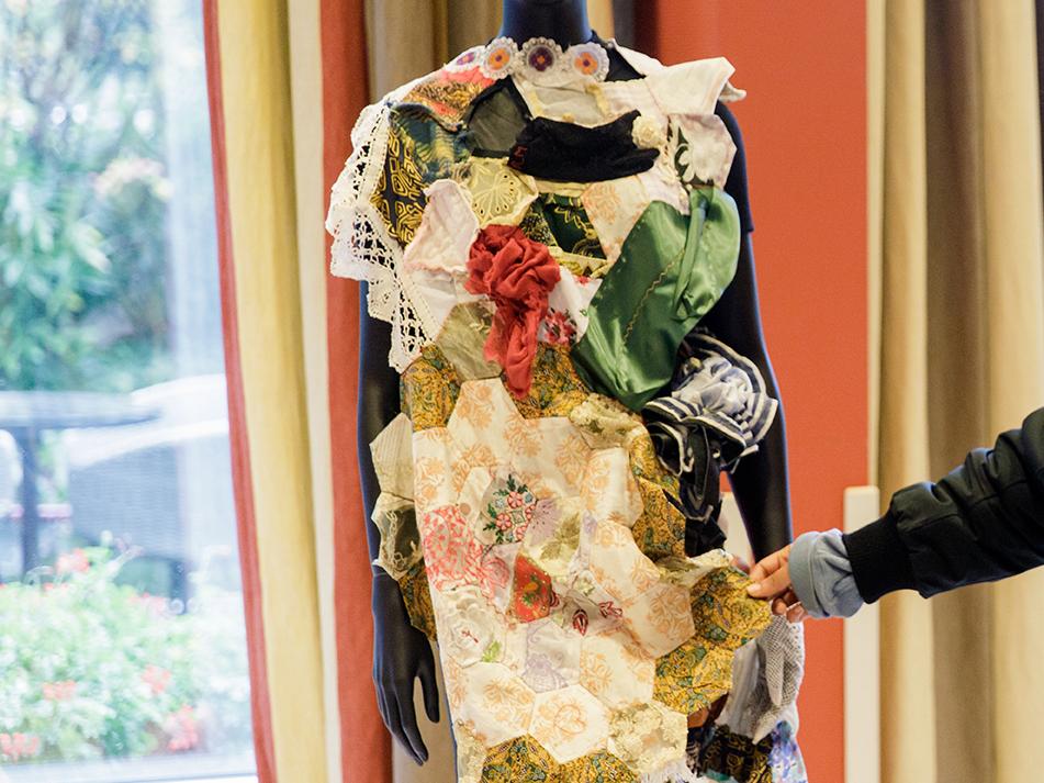 Een jurk gebaseerd op de Schiedamse Vrijheidsrok