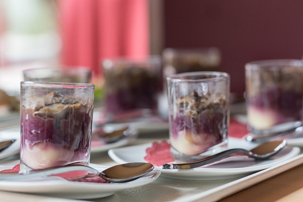 Neem een hap van een heerlijke amuse en uw smaakpapillen doen de rest!