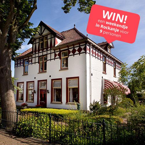 WIN! een weekendje in Rockanje voor 9 personen!
